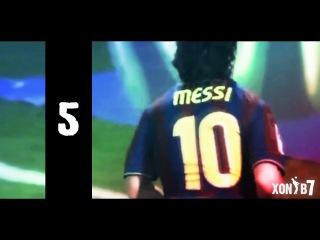 10 лучших голов Месси (Барселона)